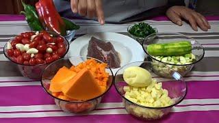 getlinkyoutube.com-طريقة تحضير كفتاجى , بطريقة سهلة  - Kafteji - المطبخ التونسي زكية - Tunisian Cuisine