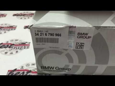 , Колодки тормозные задние BMW 5 F07 F01