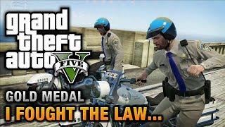 getlinkyoutube.com-GTA 5 - Mission #41 - I Fought the Law... [100% Gold Medal Walkthrough]