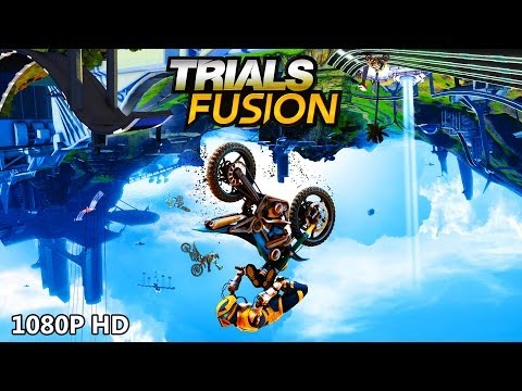 TRIALS FUSION Review - Awesome Jumps & Epic Fails! - 1080P HD Let's Play Part 1