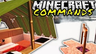 getlinkyoutube.com-CAMPING IN MINECRAFT! | Minecraft Commands #14 | ConCrafter