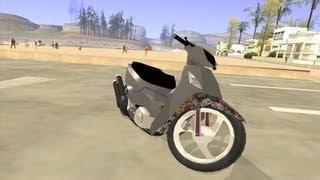 getlinkyoutube.com-Honda Biz 125 (Gta San Andreas Bike Mod)