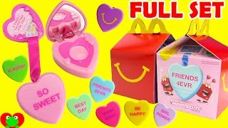 getlinkyoutube.com-2017 Sweethearts Clip Gloss Lip Balms McDonald's Happy Meal Toys Full Set