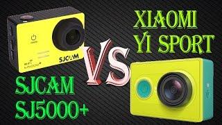getlinkyoutube.com-Мини-обзор SJCAM SJ5000 Plus +Xiaomi YI Sport