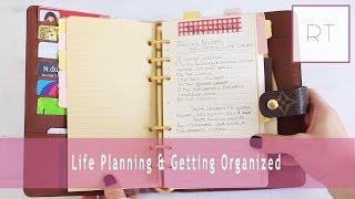 getlinkyoutube.com-Life Planning & Getting Organized (My Agenda, Filofax & More)   Rachel Talbott