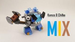 getlinkyoutube.com-LEGO Speed Build - Lego Mixels - Kamzo & Chilbo MIX
