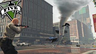 getlinkyoutube.com-GTA V PC MODS - El Mejor Policia De GTA 5 Y El Tornado ! - ElChurches