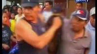 getlinkyoutube.com-Tukang Selingkuh Istri Orang Bonyok Dihajar Warga Kediri