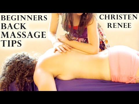 Swedish Back Massage Therapy, How To Massage Back, Softly Spoken ASMR & Relaxation Music