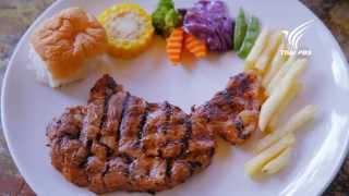 Foodwork หน่อไม้ฝรั่ง+เนื้อวัว : มายด์ - ณภศศิ สุรวรรณ : 14 ก.ย. 57 (HD)