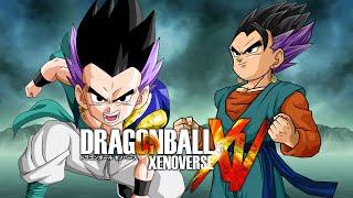 getlinkyoutube.com-Gotenks VS Trunten | Dragon Ball Xenoverse MODS (Duels)