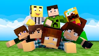 Minecraft : MEUS AMIGOS !!  (Build Battle)