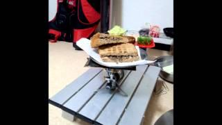 getlinkyoutube.com-100均でホットサンド 100yen-shop DE warmth sandwich