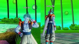 getlinkyoutube.com-Dragon Ball Xenoverse: Gogeta's clothes PQ (DLC)