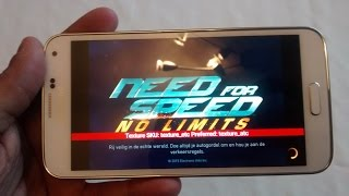 getlinkyoutube.com-Samsung Galaxy S5 Need For Speed No Limits ANDROID