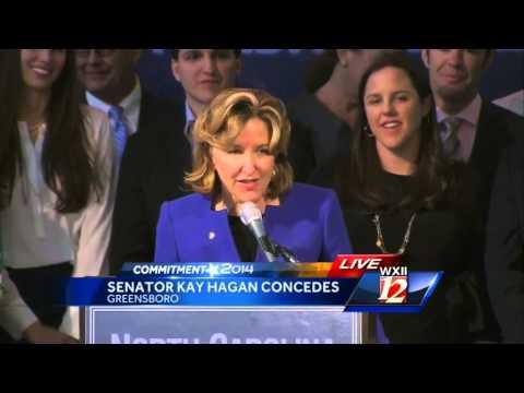 Sen. Kay Hagan concedes race to Tillis