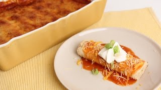Chicken Enchiladas Casserole - Laura Vitale - Laura in the Kitchen Episode 817