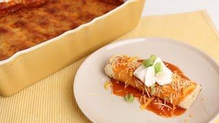 getlinkyoutube.com-Chicken Enchiladas Casserole - Laura Vitale - Laura in the Kitchen Episode 817