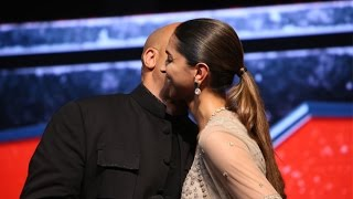 getlinkyoutube.com-Vin Diesel & Deepika Padukone KISS At xXx: Return Of Xander Cage Movie Press Conference