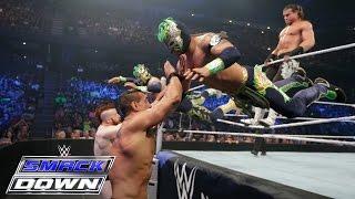 getlinkyoutube.com-Dolph Ziggler & The Lucha Dragons vs. The League of Nations: SmackDown, February 18, 2016
