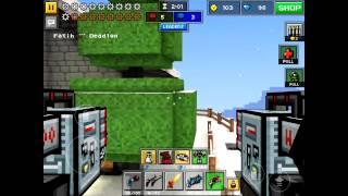 getlinkyoutube.com-Pixel Gun 3D - MECH Gameplay!!! Overpowered?
