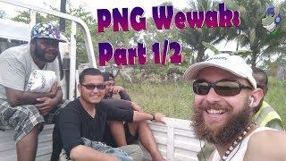 Papua-Newguinea PNG Wewak 1/2