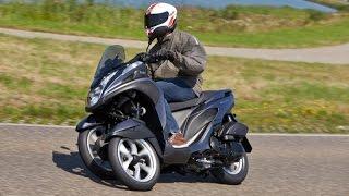 getlinkyoutube.com-Essai Yamaha Tricity 125