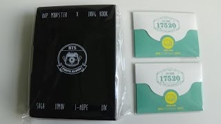 getlinkyoutube.com-Unboxing BTS (Bangtan Boys) 방탄소년단  2nd MUSTER Goods: Photo Cards Set & Photo Album