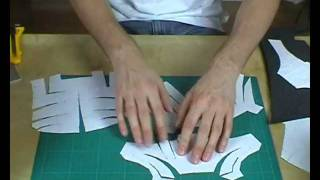 getlinkyoutube.com-XRobots - How to modify pepakura templates for foam, includes my Iron Man cosplay costume suit