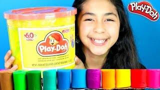 getlinkyoutube.com-Tuesday Play Doh Huge Play Doh Bucket Adventure Zoo,Farm|B2cutecupcakes