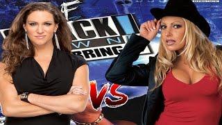 getlinkyoutube.com-WWF JBI Stephanie Mcmahon vs Trish Stratus