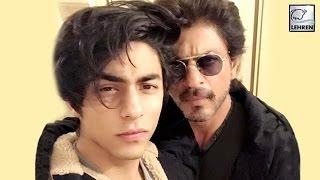 Shahrukh Khan's Selfie With Son Aryan Khan | LehrenTV