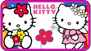 getlinkyoutube.com-Hello Kitty cartoon Nursery Rhymes Twinkle Twinkle Little Star Kids Songs