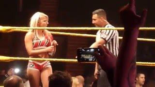 getlinkyoutube.com-Alexa Bliss & Asuka Entrance NXT Newcastle UK