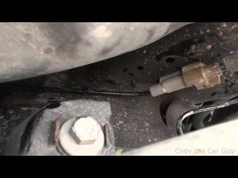 2013 Dodge Charger C0037-1D left rear wheel Speed sensor