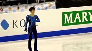getlinkyoutube.com-Sota Yamamoto  FS run-thru JGPF 2014 official practice