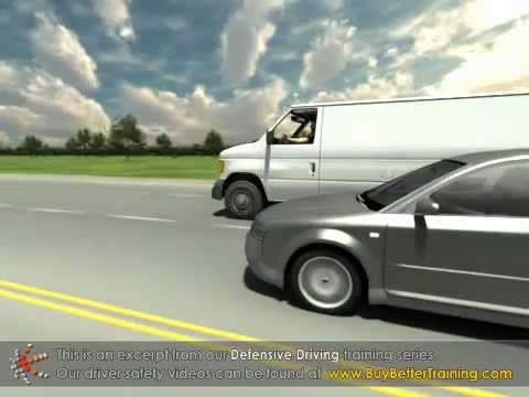Defensive Driving - Blind Spots - Training Video Sample