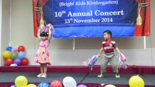 getlinkyoutube.com-Bright Kids Kindergarten 10th Annual Concert (15 Nov 2014) - Welcome Dance
