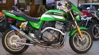 getlinkyoutube.com-MAVERICKエキゾーストサウンドを聞け Kawasaki ZRX1200 DAEG  カワサキ・ZRX  zrx1200x  限定車 ダエグ ZRT20D CBR250R CB400SF