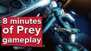 getlinkyoutube.com-8 minutes of Prey gameplay with developer commentary