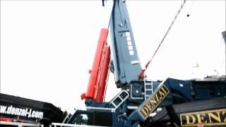 getlinkyoutube.com-LIEBHERR  LTM11200NX  [DENZAI / 電材重機]