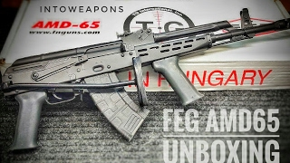 Hungarian AMD-65 AK Rifle:  Unboxing & Overview