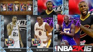getlinkyoutube.com-5 DIAMONDS IN A BOOST PACK! Tim Duncan Retirement- NBA 2K16 Pack Challenge