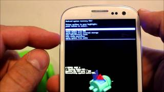 getlinkyoutube.com-How to enter Android recovery & Factory reset the Galaxy S3