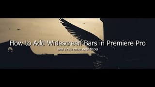 getlinkyoutube.com-How to Add Widescreen Bars in Premiere Pro (Basic to More Advanced)