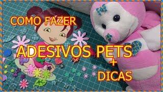 getlinkyoutube.com-#COMO FAZER ADESIVOS DE EVA PARA  #PETS + DICAS