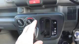 getlinkyoutube.com-新型エブリイのオートギヤシフト(シフトレバー)操作!→ ※停車中に撮影。 /日産NV100・スクラム・ミニキャブ