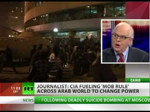 Webster Tarpley: CIA fuels 'mob rule' in Arab world to change power