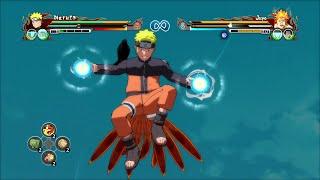 getlinkyoutube.com-Naruto Ultimate Ninja Storm Revolution - Customize Set Naruto Gameplay
