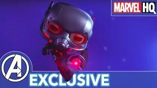 Ant-Man's Robot Rumble! | Marvel Funko Presents: Big Robot Little Problem (stars Ant-Man, Ultron)